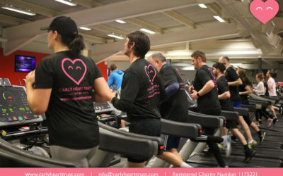 Carly Heart Trust – Training Hard!
