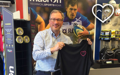 Macron print our T-Shirts! Thank You Colin!
