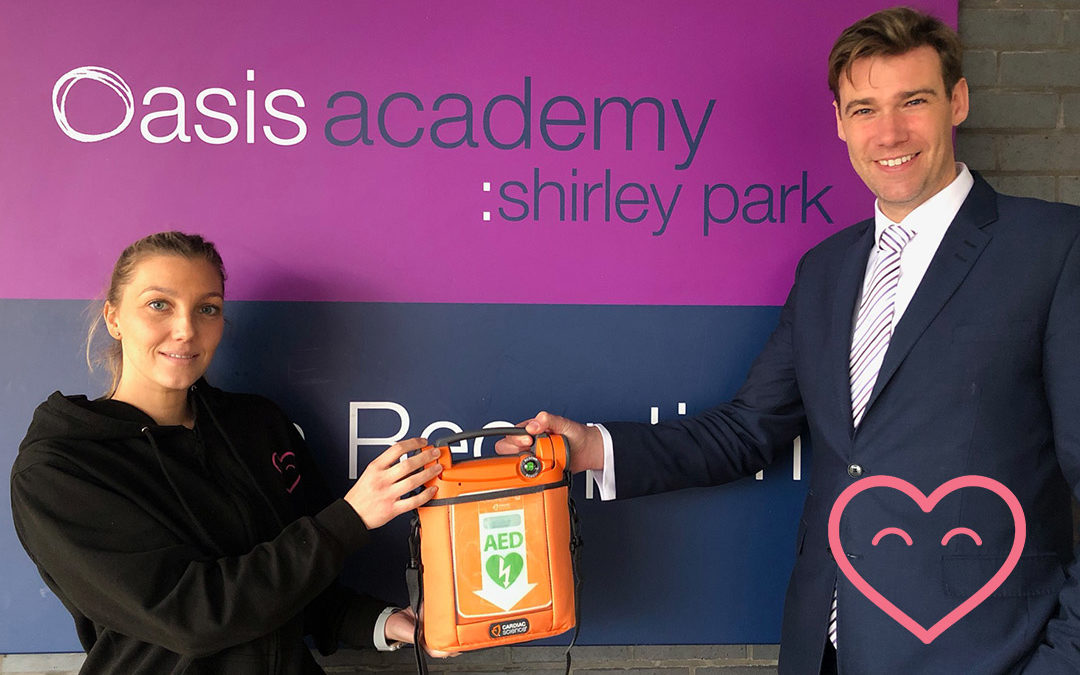 CHT donates to Oasis Academy Shirley!