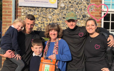 Cudham C Of E Primary School Receive A Defibrillator!