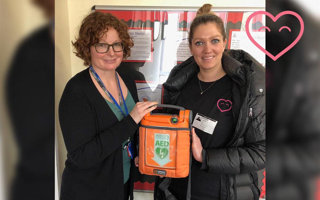 Edenbridge Primary School – New Defibrillator